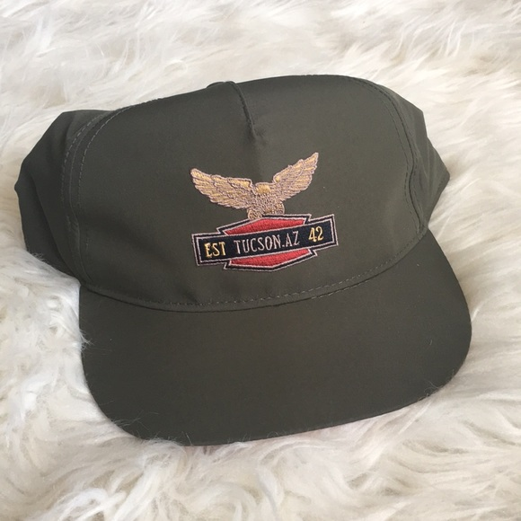Topman Army Green Snap Back Hat 826a9100c727